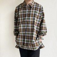 1950-1960's French Work Shirt  フランスのワークシャツ グランパシャツ(デッドストック美品)<img class='new_mark_img2' src='https://img.shop-pro.jp/img/new/icons3.gif' style='border:none;display:inline;margin:0px;padding:0px;width:auto;' />