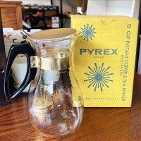 箱付き Instant Coffee and Tea Maker 1950年代製造 Old Pyrex オールドパイレックス(SSランク美品)<img class='new_mark_img2' src='https://img.shop-pro.jp/img/new/icons3.gif' style='border:none;display:inline;margin:0px;padding:0px;width:auto;' />