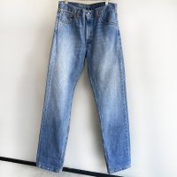 1990's Levi's Denim 505 Made in Spain Faded Indigo 90年代スペイン製リーバイス505<img class='new_mark_img2' src='https://img.shop-pro.jp/img/new/icons3.gif' style='border:none;display:inline;margin:0px;padding:0px;width:auto;' />