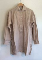 ヴィクトリアンズリネンプルオーバー パウダーベージュ victorians linen pullover pouderbeige/DjangoAtour ANOTHERLINE