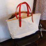 Trico Tote, Red/Blue/White(ブランド:Workers K&TH/ワーカーズ)
