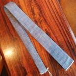 Selvedge Tie(Solid Blue)
