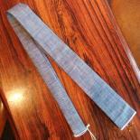 Selvedge Tie(Solid Blue)