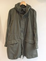 1970's Vintage French Army M-64 Coat Khaki