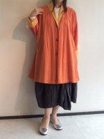 1990's Vintage Italian Spring Coat Orange