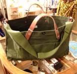 ツールバッグ/レザーハンドルTool Bag, w Leather Handle(ブランド:Workers K&TH/ワーカーズ)