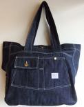 ヘラクレスツールバッグ デニムトートHercules Tote Bag(ブランド:Workers K&TH/ワーカーズ)