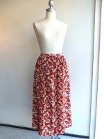 リボンと花柄ポリエステルスカート 商品番号30PT-4/PINKHOUSEピンクハウス