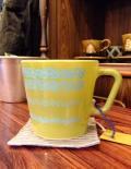 oldPyrexオールドパイレックス コーニング 花柄マグカップ