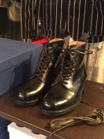 �ߥ꥿�꡼�����ӡ��֡��� �֥�å� Military Derby Boot Black��SANDERS<img class='new_mark_img2' src='http://mamechico.jp/img/new/icons3.gif' style='border:none;display:inline;margin:0px;padding:0px;width:auto;' />