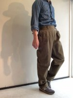 1960's French Military Pants Khaki