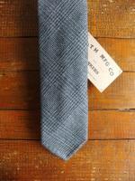 ハンドテーラードタイ グレーチェック Hand Tailoared Tie Gray Check/Workers<img class='new_mark_img2' src='https://img.shop-pro.jp/img/new/icons48.gif' style='border:none;display:inline;margin:0px;padding:0px;width:auto;' />