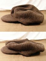 ドレイパーズツイードキャップdrapers tweed cap(color-1)ブラウン系/DjangoAtour
