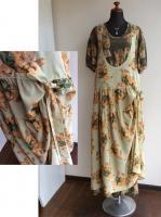 ポリエステルくまジャンパースカート(黄緑)/WONDERFULWORLD