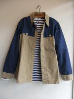 ダブルマッキノージャケット Double Mackinaw Jacket, 2-Tone/Workers