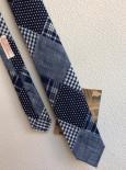 ハンドテーラードタイ インディゴパッチワーク/Hand Tailored Tie,Indigo Patchwork(Workers K&TH)<img class='new_mark_img2' src='https://img.shop-pro.jp/img/new/icons48.gif' style='border:none;display:inline;margin:0px;padding:0px;width:auto;' />