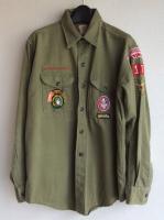 1960's U.S Boy Scout Shirt Khaki(アメリカ)<img class='new_mark_img2' src='https://img.shop-pro.jp/img/new/icons48.gif' style='border:none;display:inline;margin:0px;padding:0px;width:auto;' />