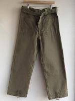 1950-1960's French Military Motorcycle Trousers	Khaki(フランス)<img class='new_mark_img2' src='https://img.shop-pro.jp/img/new/icons48.gif' style='border:none;display:inline;margin:0px;padding:0px;width:auto;' />