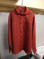 リネンイージーシャツ2014(red)LINEN EASY SHIRT 2014/DjangoAtour<img class='new_mark_img2' src='//img.shop-pro.jp/img/new/icons48.gif' style='border:none;display:inline;margin:0px;padding:0px;width:auto;' />