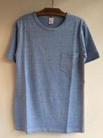 ポケットTシャツ ブルー Pocket T-Shirt, Blue/Workers<img class='new_mark_img2' src='https://img.shop-pro.jp/img/new/icons48.gif' style='border:none;display:inline;margin:0px;padding:0px;width:auto;' />