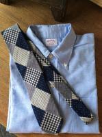 ハンドテーラードタイ ダブルクロス Hand Tilored Tie Double Cloth/Workers<img class='new_mark_img2' src='https://img.shop-pro.jp/img/new/icons48.gif' style='border:none;display:inline;margin:0px;padding:0px;width:auto;' />