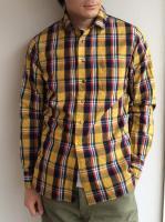 クラシックチェックシャツ イエローチェック CLASSIC CHECK SHIRT yellowcheck/DjangoAtour