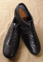 ジャーマンレザーシューズ ブラック german leather shoes black/DjangoAtour