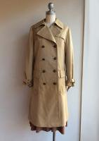 1970-1980's Fnnish Trench Coat(Beige)