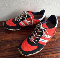 1980's U.S Sneaker by Unknown Brand(Redish Orange)<img class='new_mark_img2' src='https://img.shop-pro.jp/img/new/icons48.gif' style='border:none;display:inline;margin:0px;padding:0px;width:auto;' />