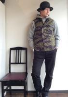 デッキベスト タイガーカモ Deck Vest,Tiger Camo/Workers