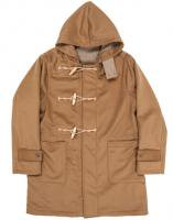 ダッフルコート ウールカシミア ベージュ 0サイズ Duffle Coat, Wool Cashmere Melton Beige/Workers