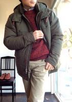 クルーザーパフジャケット カーキ Cruiser Puff Jacket, Khaki/Workers