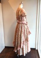 ストライプ薔薇柄オーバースカート 2004年 商品番号W42FS08/WONDERFULWORLDワンダフルワールド
