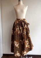 親子くま キルティングスカート 商品番号W93FS01/WONDERFULWORLDワンダフルワールド
