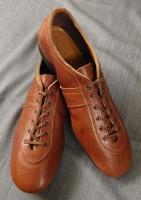 ジャーマンレザーシューズ ブラウン german leather shoes brown/DjangoAtour