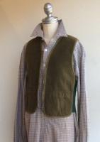 1960's Canadian Zip Vest Olive
