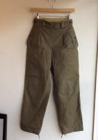 1950's French Military Wide Pants Khaki<img class='new_mark_img2' src='https://img.shop-pro.jp/img/new/icons48.gif' style='border:none;display:inline;margin:0px;padding:0px;width:auto;' />
