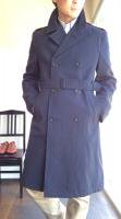 1980-1990's British Royal Air Force Trench Coat Navy<img class='new_mark_img2' src='https://img.shop-pro.jp/img/new/icons48.gif' style='border:none;display:inline;margin:0px;padding:0px;width:auto;' />