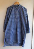 1950's French Work Shirt Gray×Blue<img class='new_mark_img2' src='https://img.shop-pro.jp/img/new/icons48.gif' style='border:none;display:inline;margin:0px;padding:0px;width:auto;' />