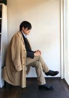クラシックパリダスター ベージュ CLASSIC PARIS DUSTER beige/DjangoAtour ANOTHERLINE<img class='new_mark_img2' src='https://img.shop-pro.jp/img/new/icons48.gif' style='border:none;display:inline;margin:0px;padding:0px;width:auto;' />
