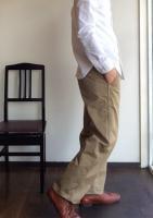ワーカーズオフィサートラウザー ワイドストレート チノ Workers Officer Trousers, Wide Straight Chino/Workers<img class='new_mark_img2' src='https://img.shop-pro.jp/img/new/icons48.gif' style='border:none;display:inline;margin:0px;padding:0px;width:auto;' />