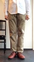 ワーカーズオフィサートラウザー スリムチノ Workers Officer Trousers, Slim Chino/Workers