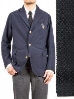シルクニットタイ ブラック Silk Knit Tie,Black/Workers