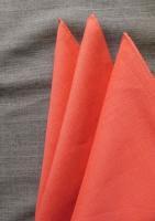 リネンハンカチーフ サーモンピンク linen handkerchief salmonpink/DjangoAtour<img class='new_mark_img2' src='https://img.shop-pro.jp/img/new/icons48.gif' style='border:none;display:inline;margin:0px;padding:0px;width:auto;' />
