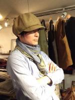 ニュースボーイ ウールメルトンキャップ newsboy wool-melton cap/DjangoAtour