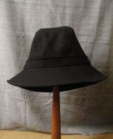 UKサージハット ブラック uk serge hat black/DjangoAtour