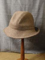 UKウールメルトンハット モカ uk wool-melton hat mocha/DjangoAtour