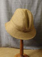 UKウールメルトンハット マスタード uk wool-melton hat mustard/DjangoAtour