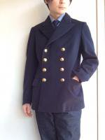 【Price off】1940-1950's Swedish Navy P-Coat DarkNavy