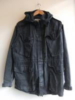 【Price off】1980-1990's Canadian Military Crash Blouson Faded Black